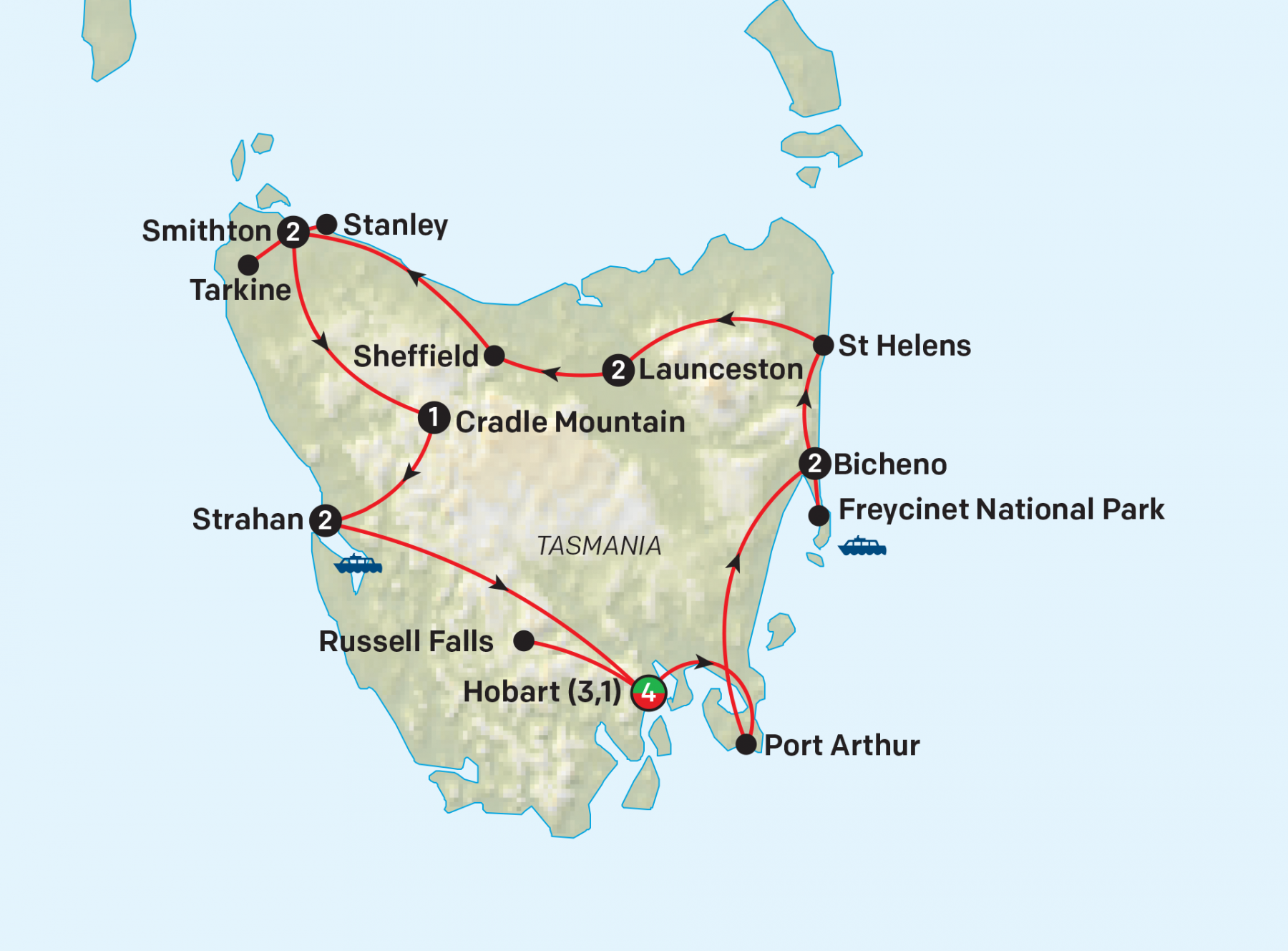 Tasmania in Depth