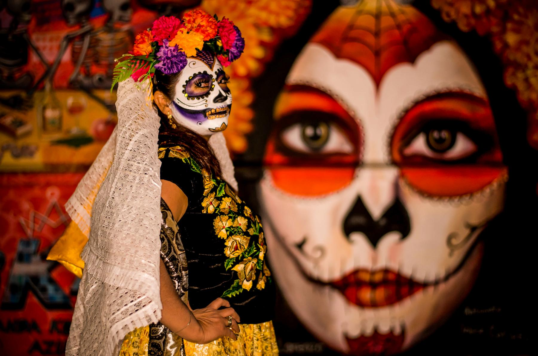 Face at Day of the Dead