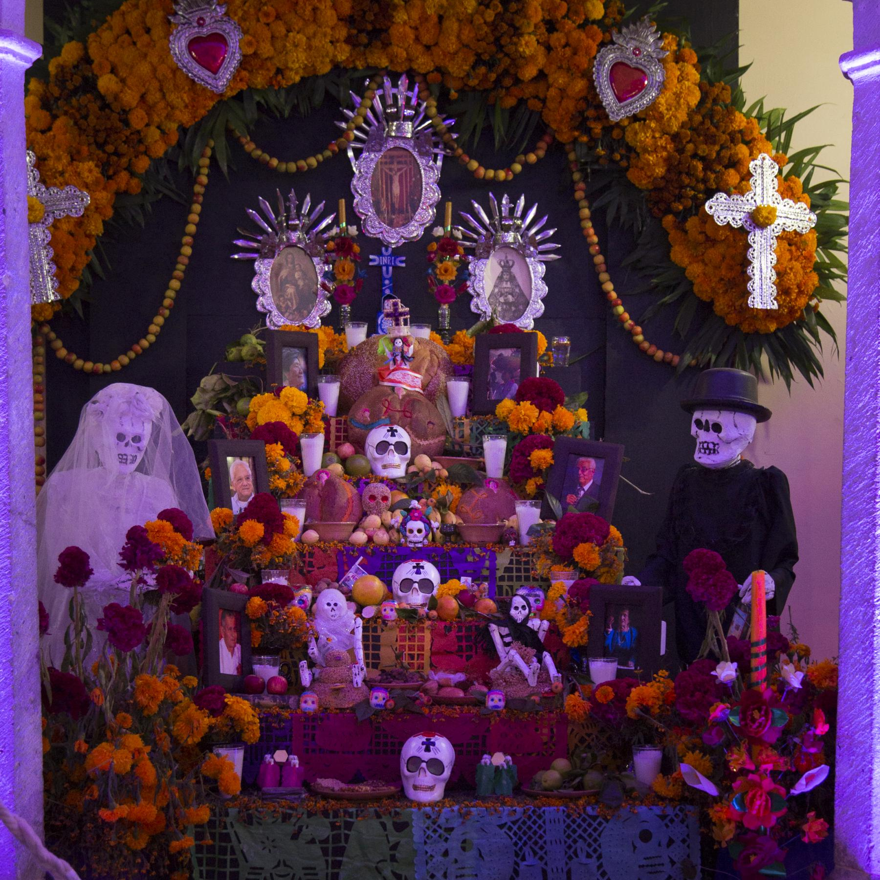 Shrine from Day of the Dead