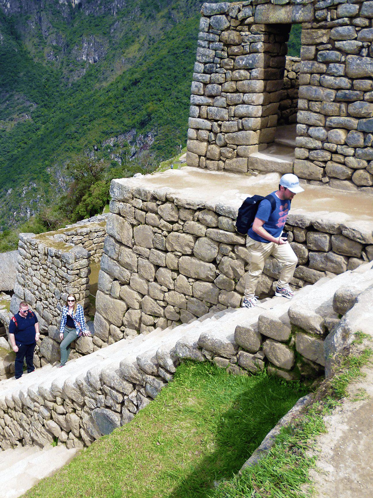 Reaching your daily step count won't be a problem at Machu Picchu