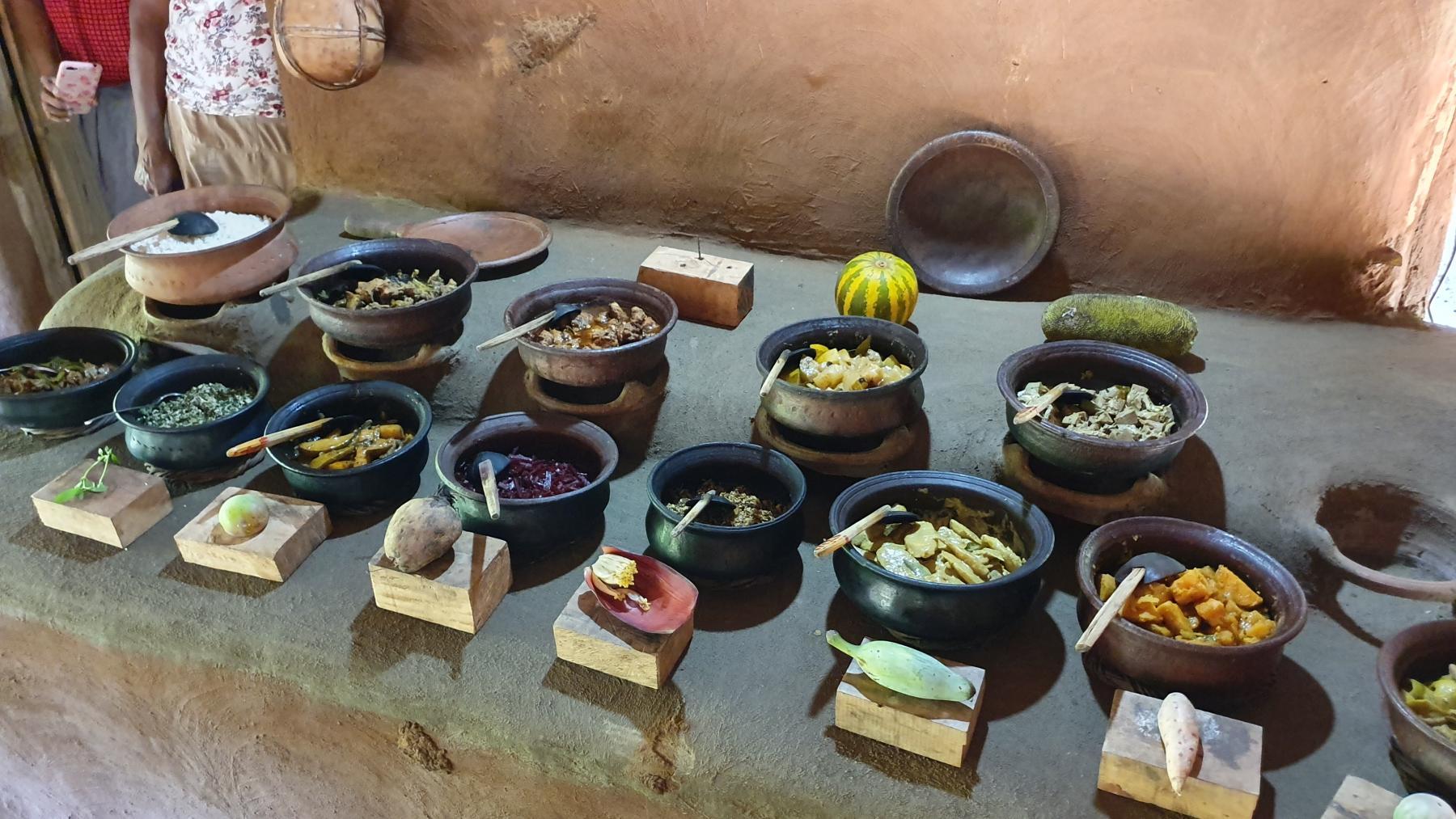Lunch in Sigiriya Village