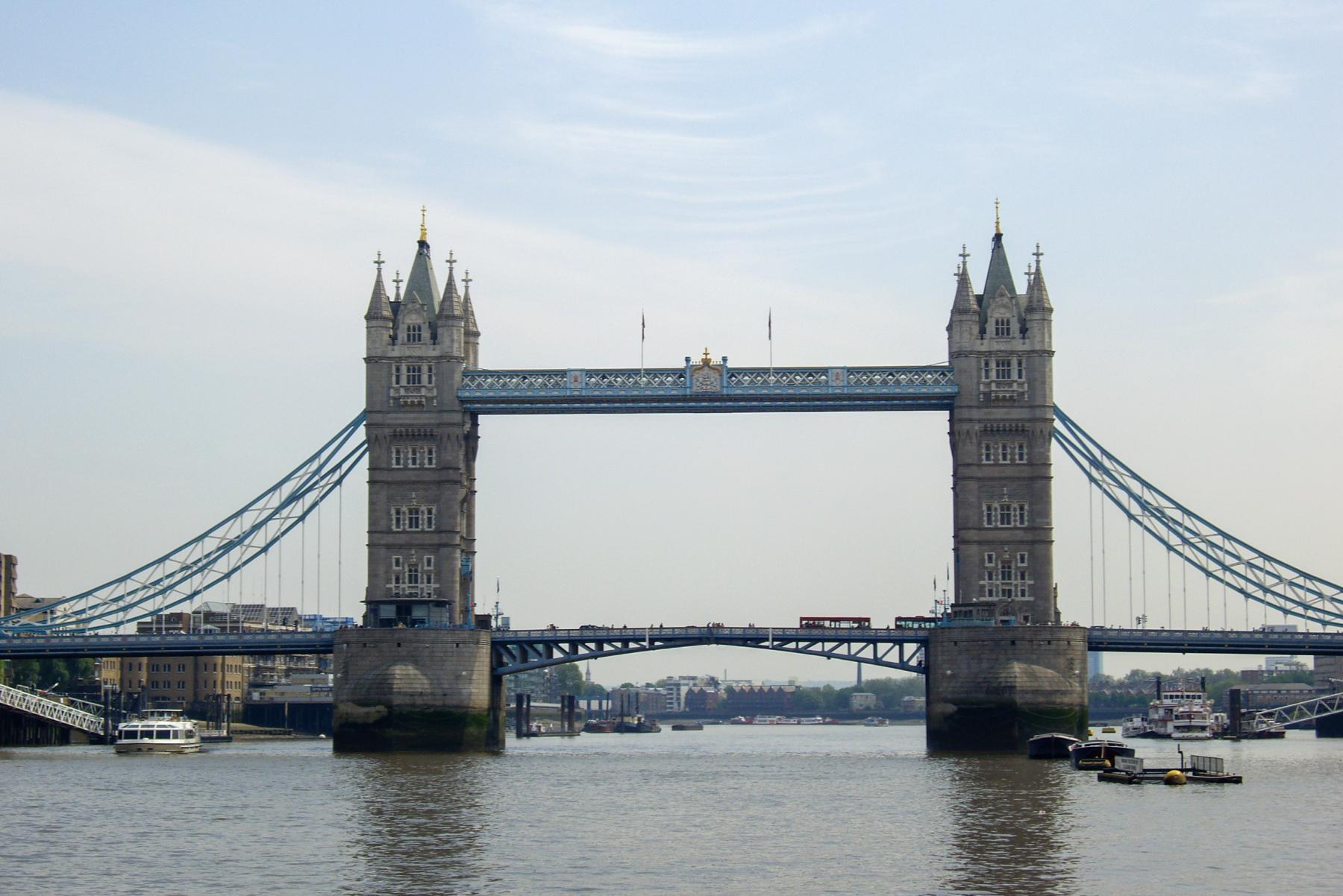 The Tower Bridge, London by Victoria Hearn