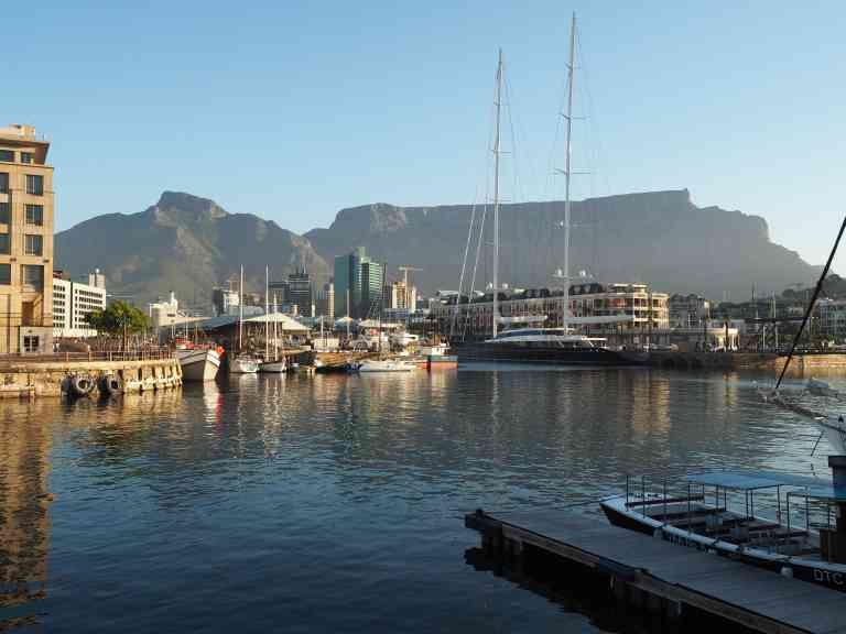 Cape Town Waterfront by Annelieke Huijgens