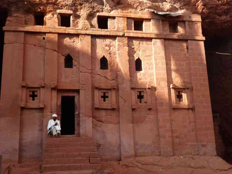 Rock-hewn churches of Lalibela by James Atwell