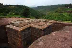 The beauty of Lalibela