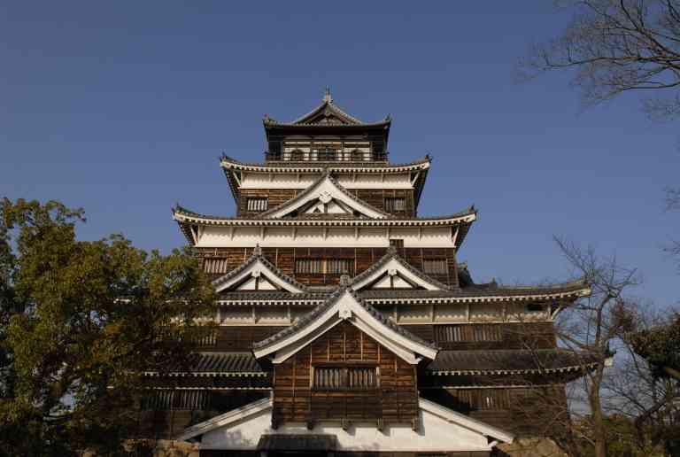 Hiroshima Castle by Mirza Ariadi