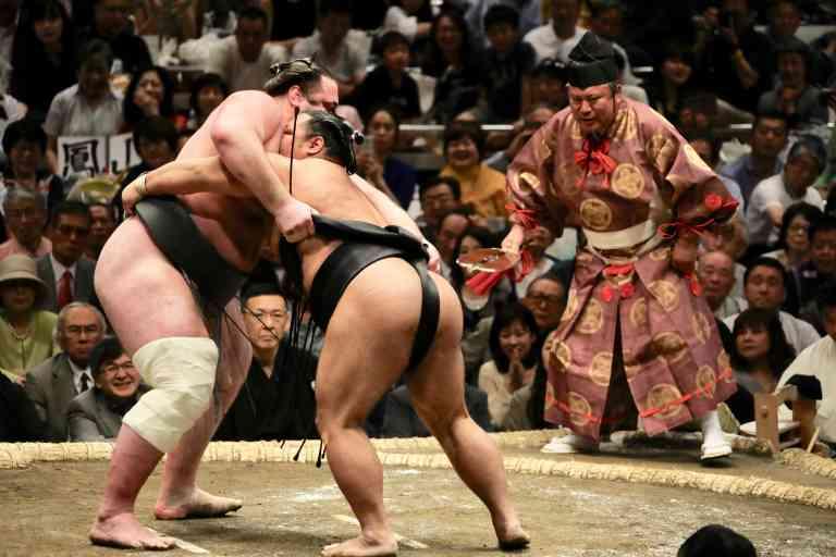 Sumo Wrestlers, Japan by Bob Fisher, Unsplash