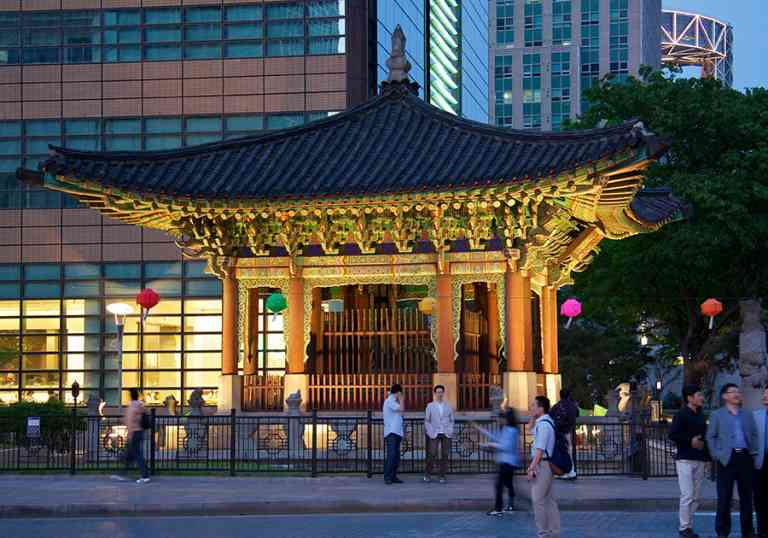 Sejong-daero, Seoul by Mario Sánchez Prada/Flickr