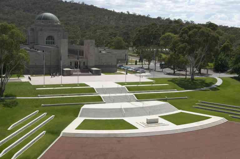 Australian War Memorial exterior by VisitCanberra
