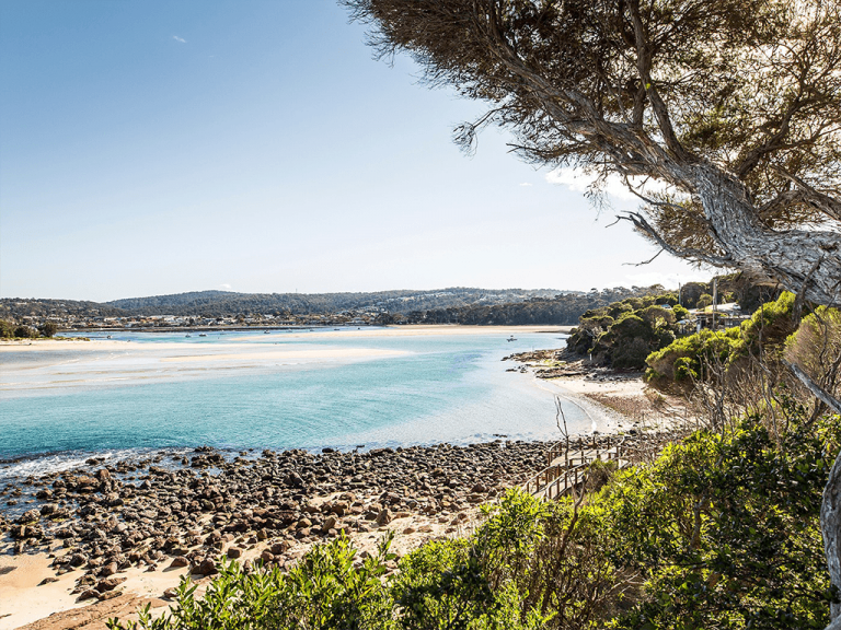 Bar Beach, Merimbula by Destination NSW