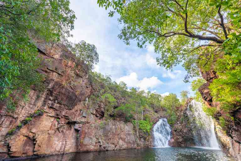 Florence Falls of Litchfield National Park, Northern Territory by Nick Brundle / Adobe Stock