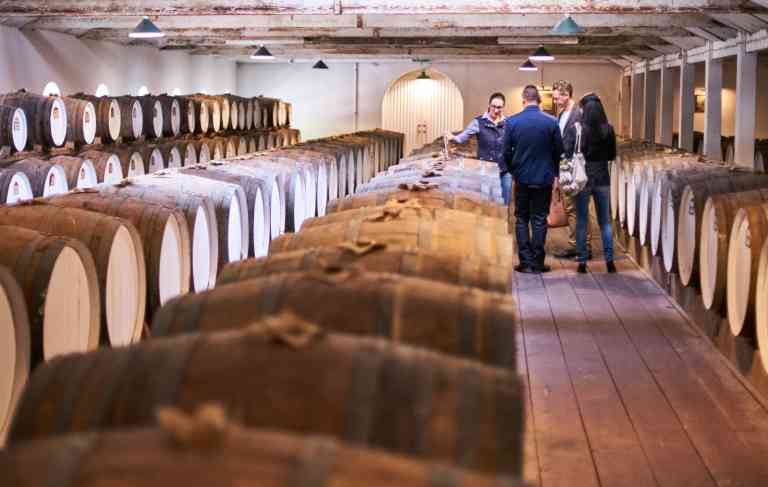 Centennial Cellar at Seppeltsfield, Barossa by Ian Routledge/South Australian Tourism Commission