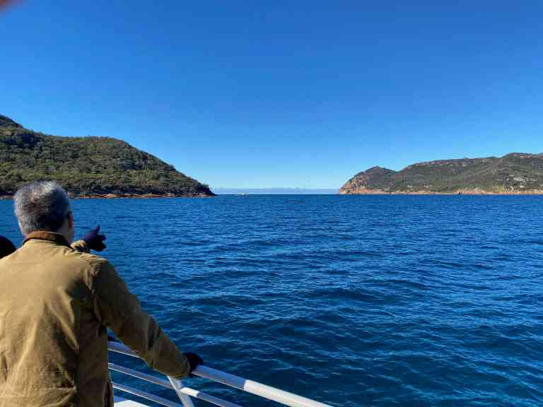 Heading towards Schouten Passage by James Atwell