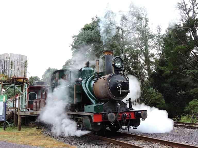Rack & Gorge train by Zoe Francis