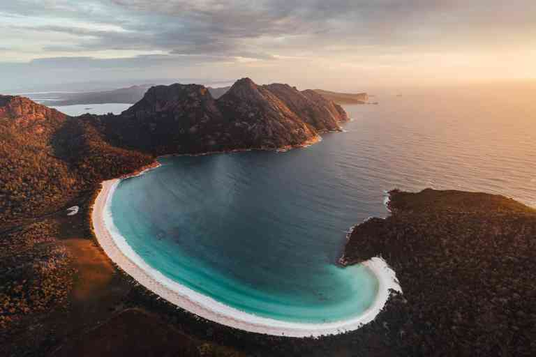 Wineglass Bay by Jason Charles Hill