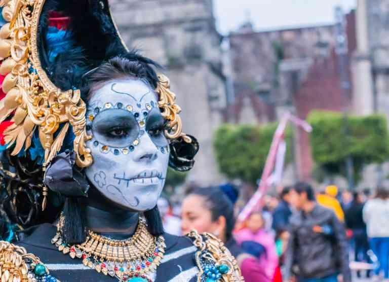Day of the Dead, Mexico City, by Filiberto Santillán on Unsplash