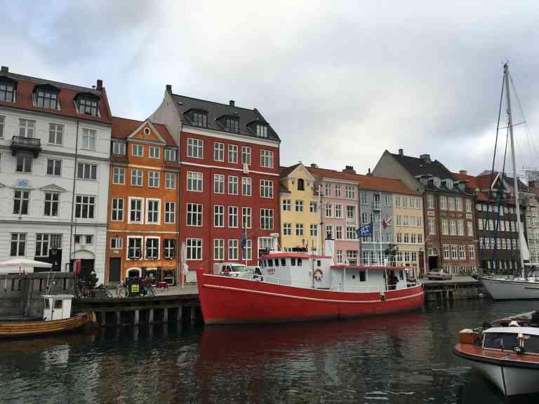 Nyhavn, Copenhagen by Emily Fraser