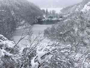 Snow-covered Jewels of Dalmatia