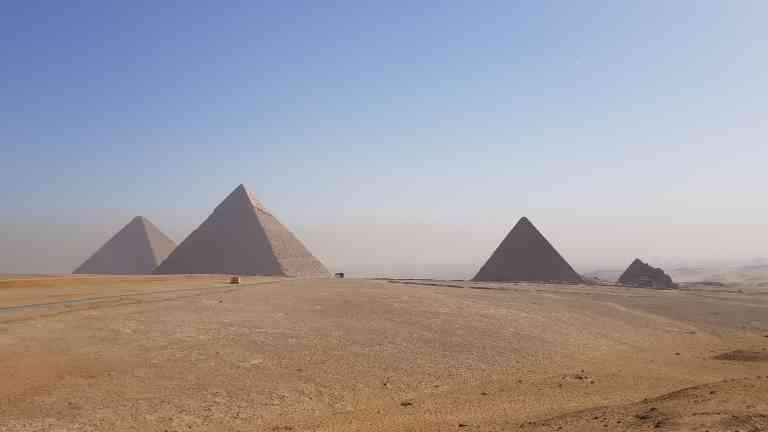 Pyramids by Victoria Hearn