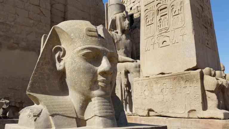 Luxor Temple, Egypt by Sacha Bunnik