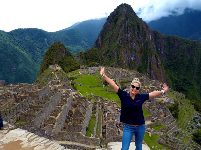 Machu Picchu. That's the money shot.