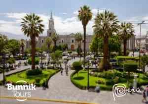 Arequipa - The white city
