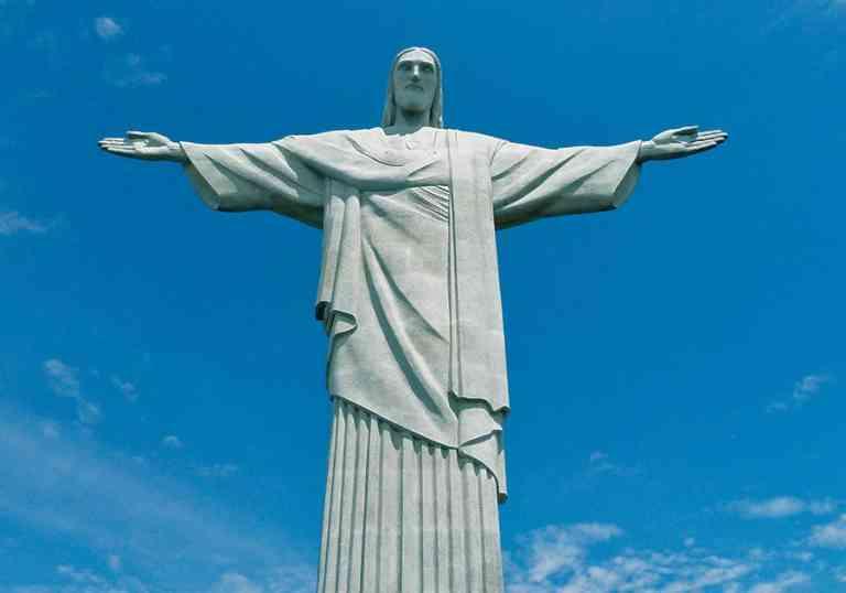 Christ the Redeemer, Rio de Janeiro, Brazil by Dennis Bunnik
