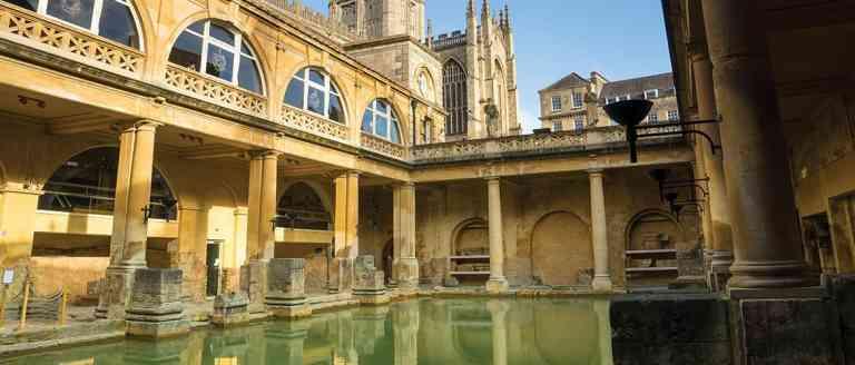 Roman Baths, Adobe Stock