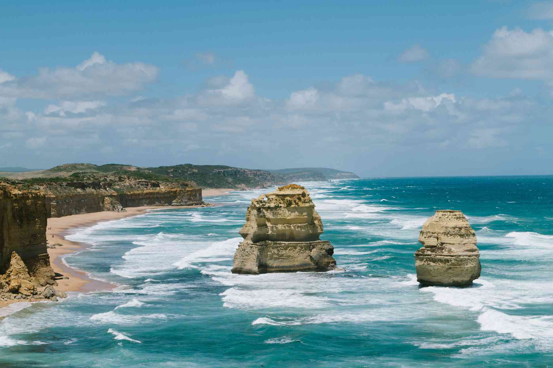 Travelling the Great Ocean Road