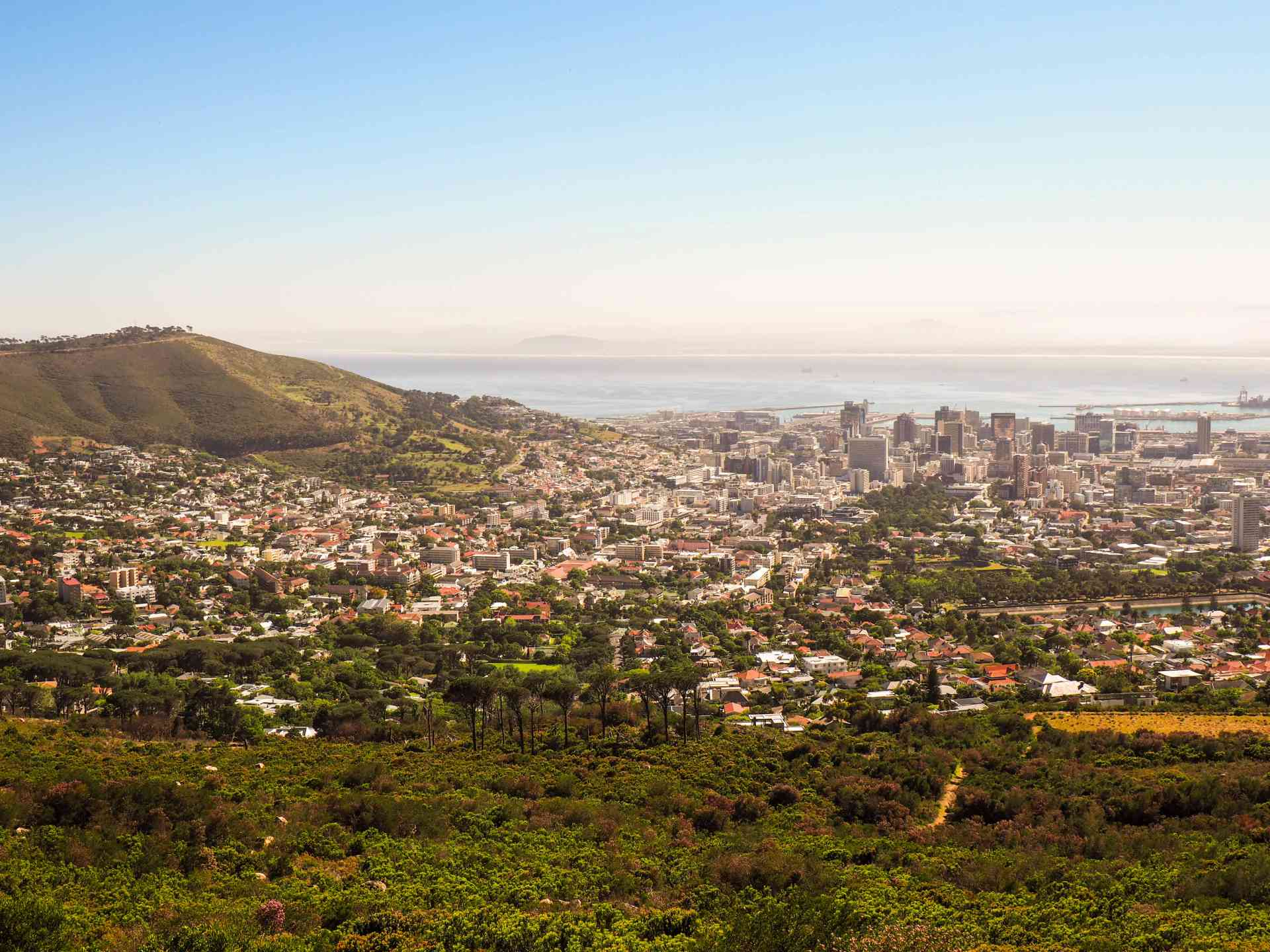 The picturesque western cape