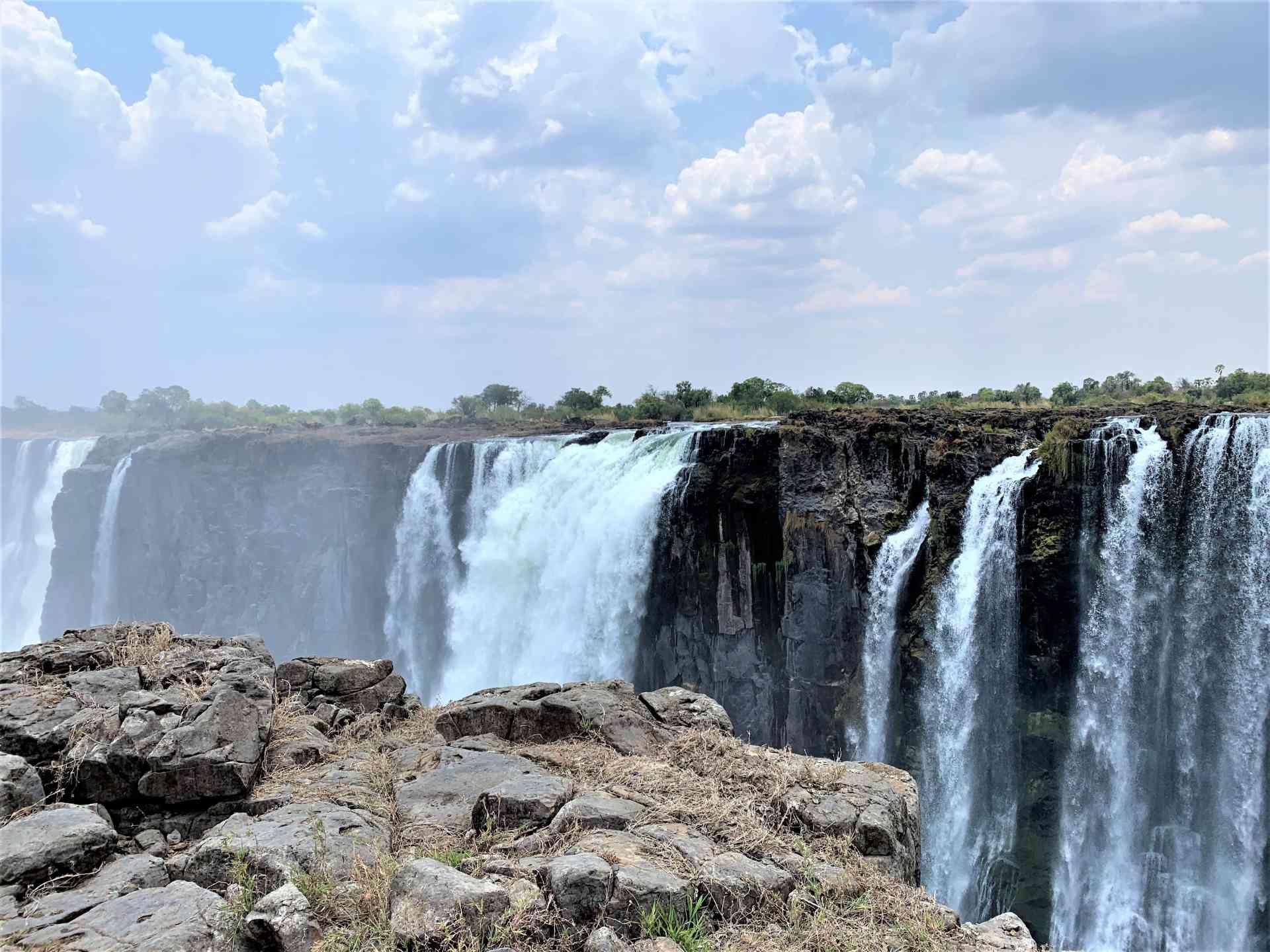 Thunderous waterfalls