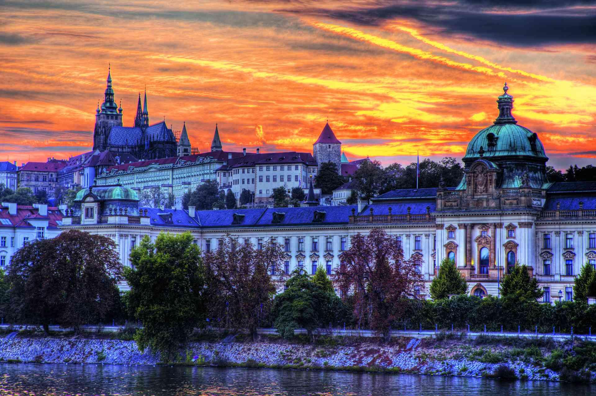 Poland and Prague