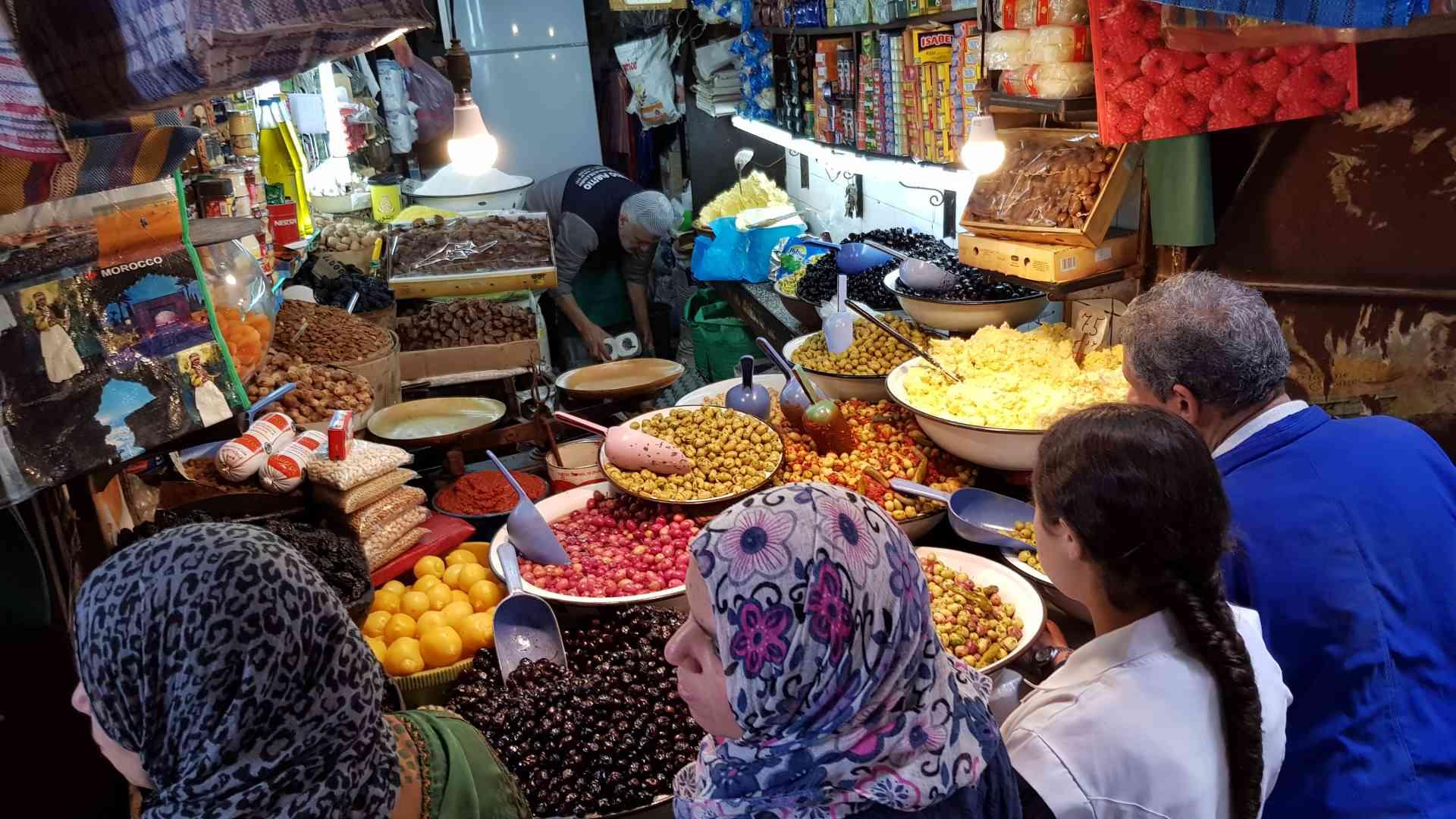 Enjoy Morocco's Colourful Markets