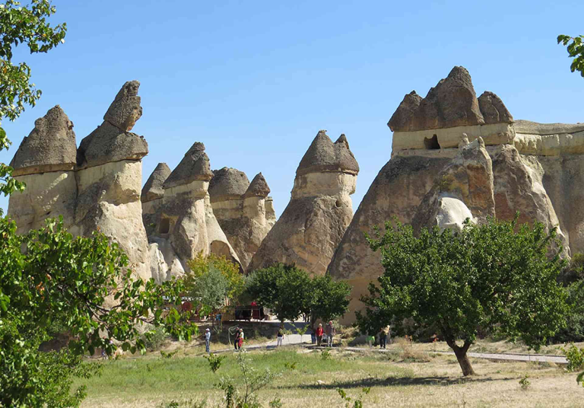 Fairy chimneys and Whirling Dervishes