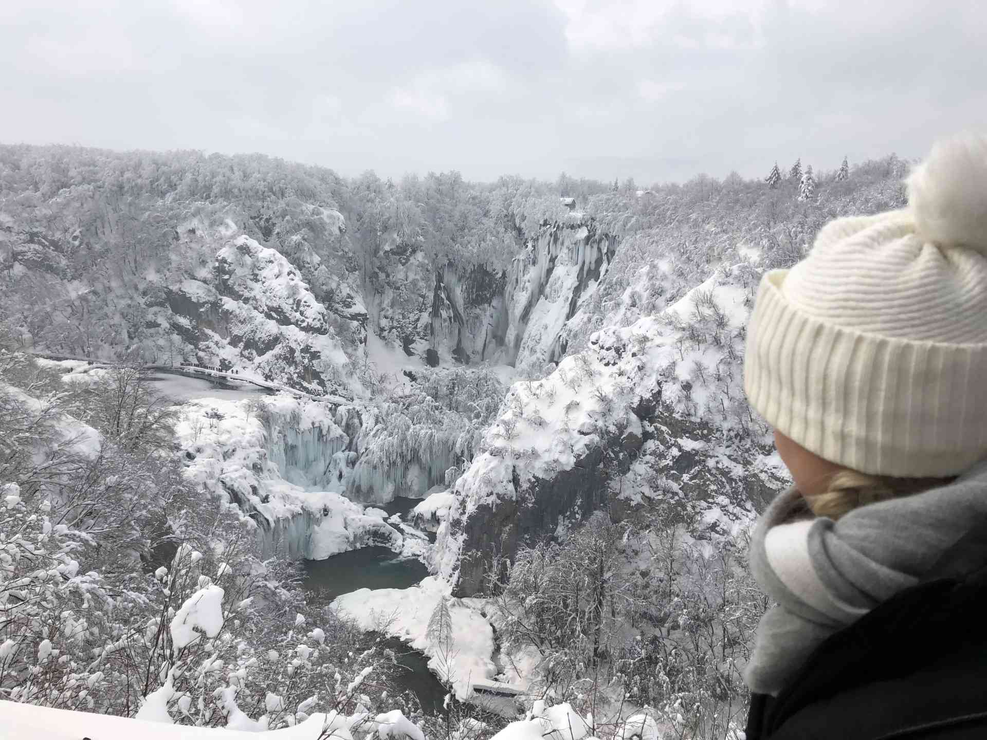 Winter wonderland in Plitvice