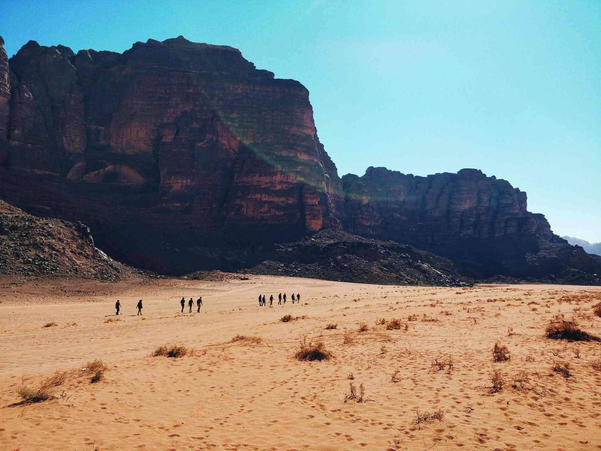 Escape to the desert