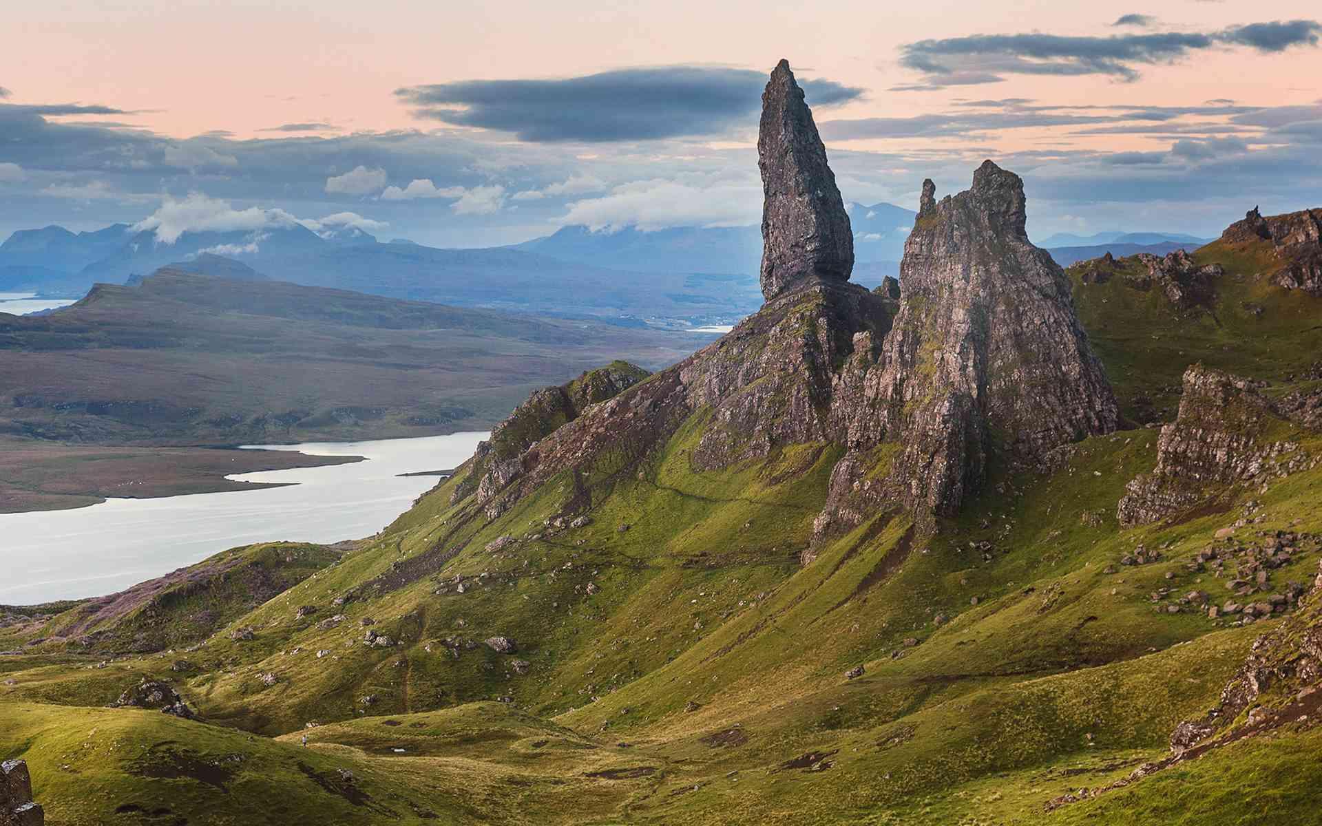 Scottish highlands, an incredible landscape