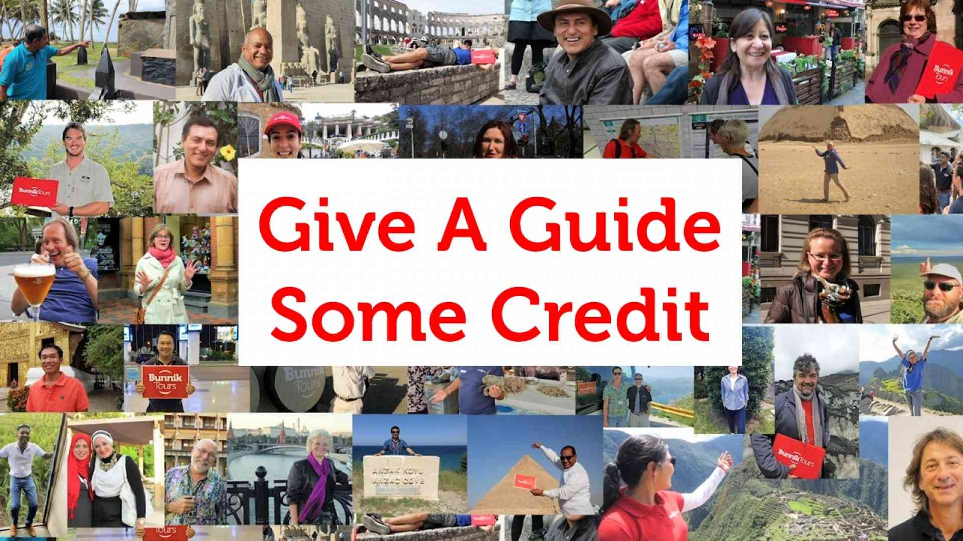 Give A Guide Some Credit