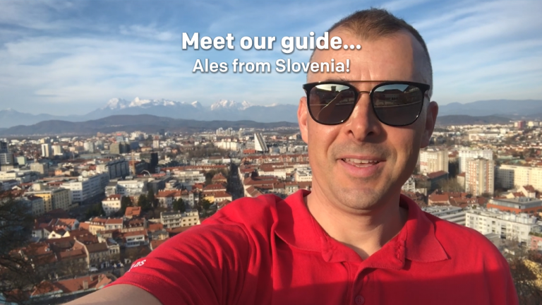 Meet our tour guide... Ales from Slovenia!