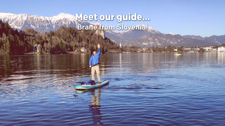 Meet our tour guide... Brane from Slovenia!