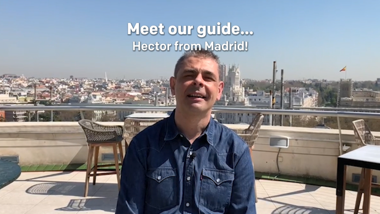 Meet our tour guide... Hector from Madrid!