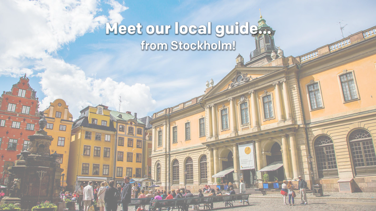 Meet our local guide... from Sweden!