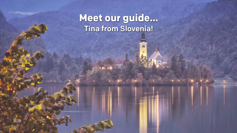 Meet our tour guide... Tina from Slovenia!