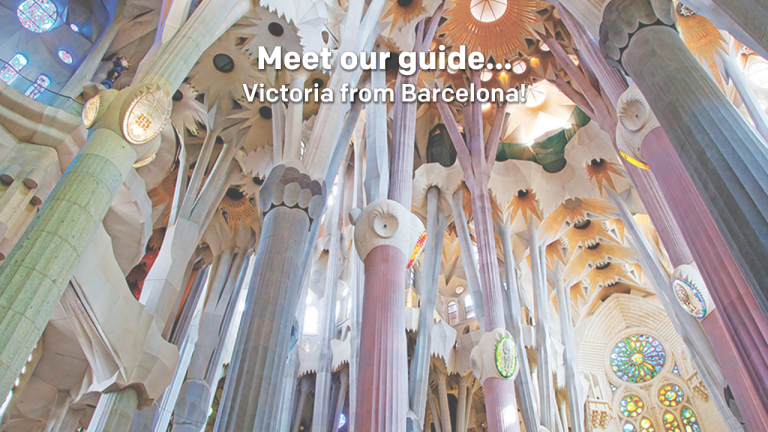 Meet our tour guide... Victoria from Barcelona!